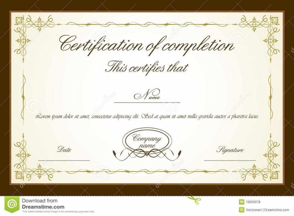 Diploma Template Free Download Certificate Templates Psd Certificate Templates