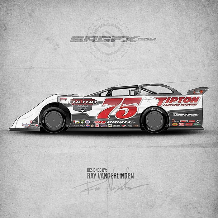 Dirt Late Model Body Template Srgfx