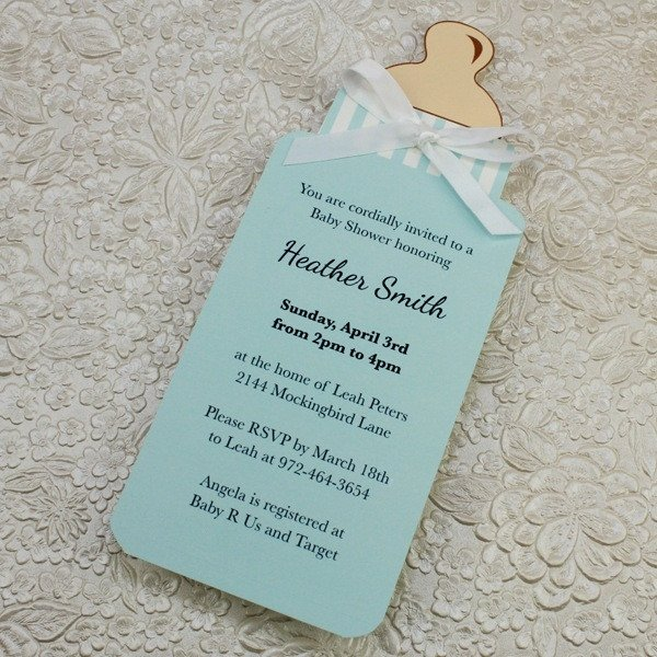 Diy Baby Shower Invitation Templates Diy Baby Shower Invitations Template 2018
