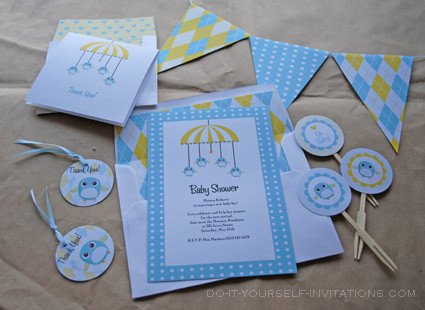 Diy Baby Shower Invitation Templates Printable Baby Shower Invitation Templates Baby Birdy Mobile