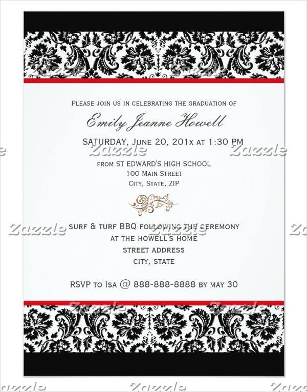 Diy Graduation Announcements Templates Free 40 Invitation Templates In Psd