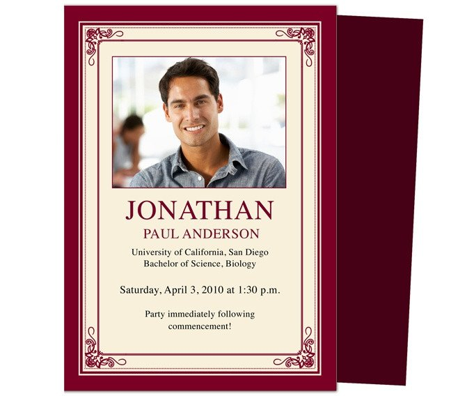 Diy Graduation Announcements Templates Free 46 Best Printable Diy Graduation Announcements Templates