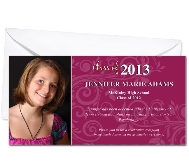 Diy Graduation Announcements Templates Free Graduation Announcements Printable Diy Graduation
