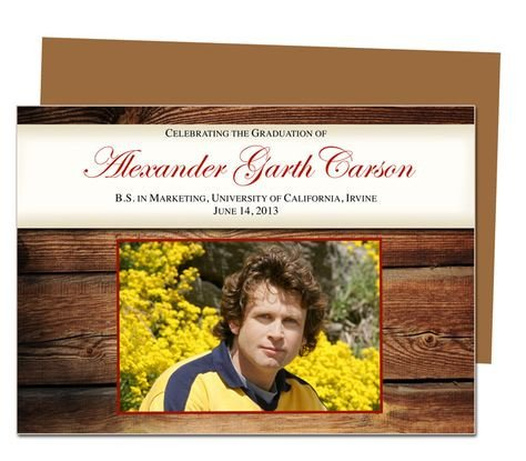 Diy Graduation Announcements Templates Free Printable Diy Graduation Announcements Templates On
