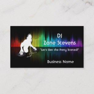 Dj Business Card Template Dj Business Cards Business Card Printing
