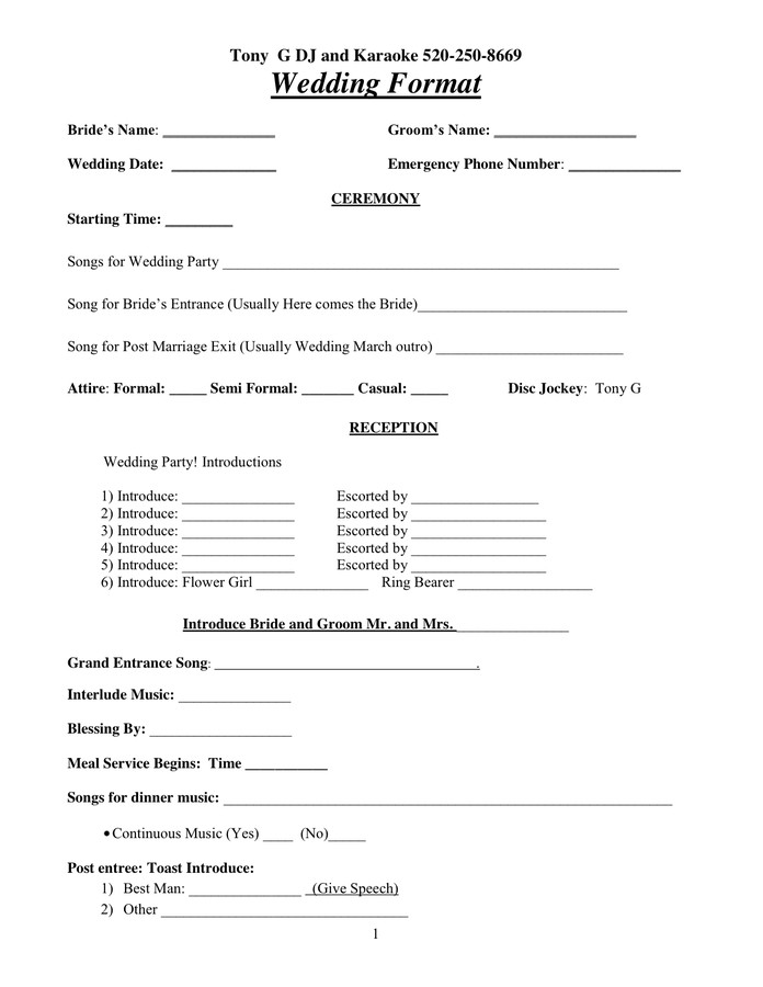 Dj Contract Template Microsoft Word Dj Contract In Word and Pdf formats