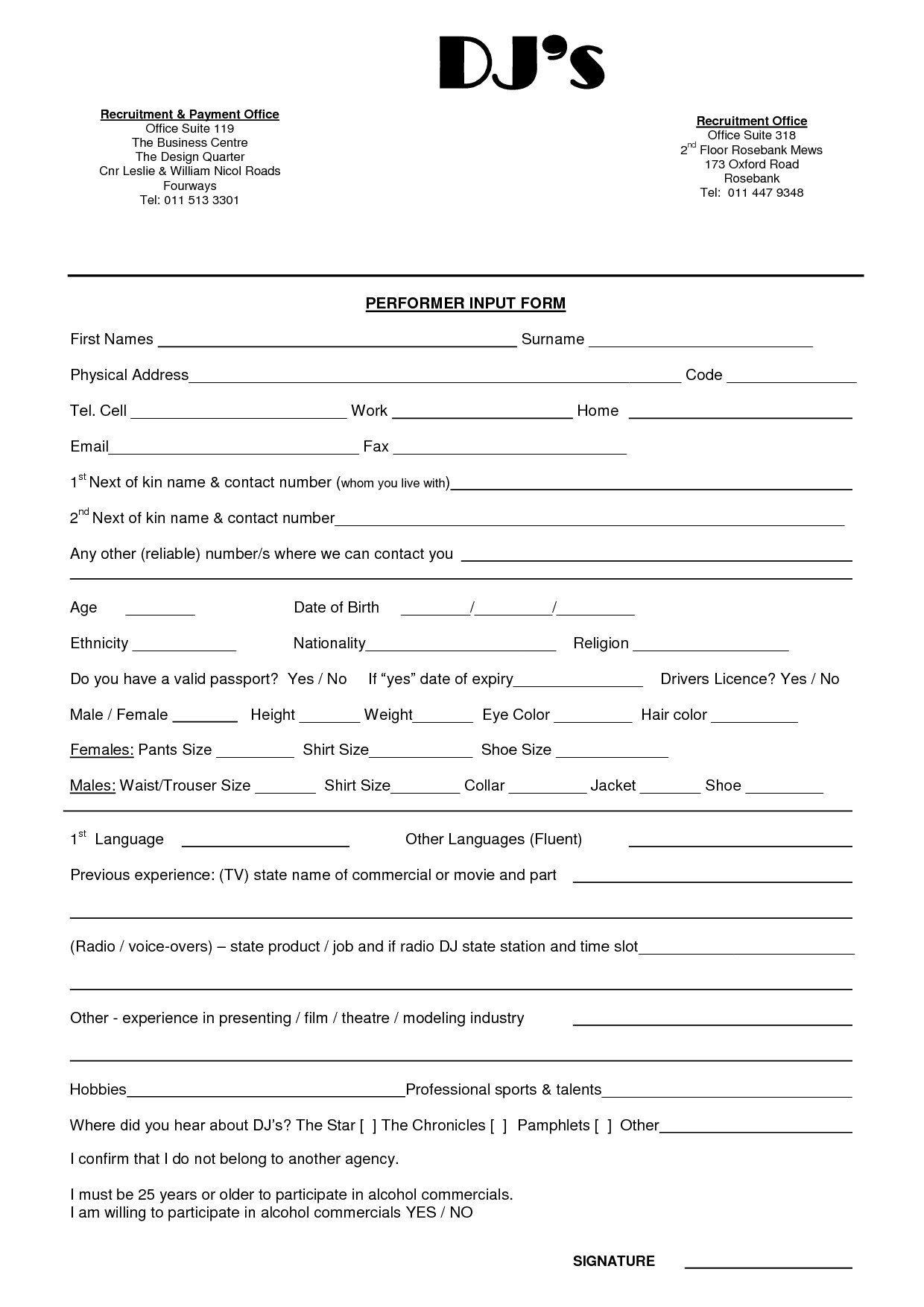 Dj Contract Template Pdf Wedding Dj Contract Templateregularmidwesterners
