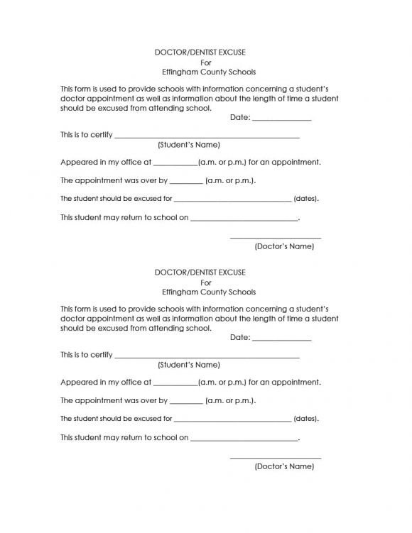 Doctors Note for School Template 42 Fake Doctor S Note Templates for School & Work