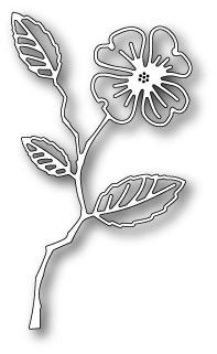 Dogwood Flower Outline Christie Craft Christie Craft Brings Memory Box Dies