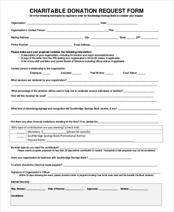 Donation form Template Word 10 Sample Donation Request forms Pdf Word
