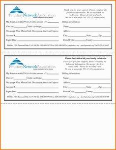 Donation Pledge Card Template Pledge Cards for Churches Pledge Card Templates
