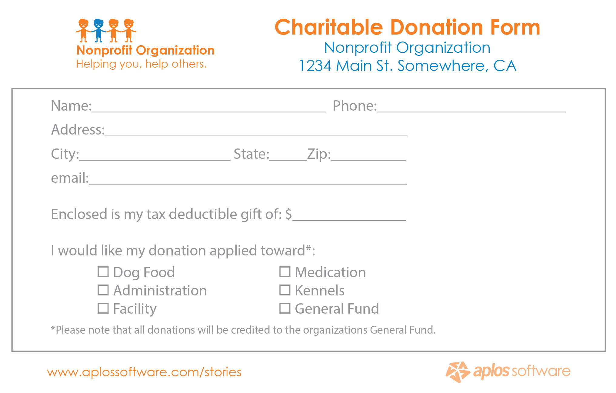 Donation Pledge Card Template the One Mistake that Almost Killed Our Fundraiser
