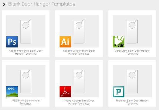 Door Hanger Template Psd 15 Best Free Door Hanger Templates & Design Ideas