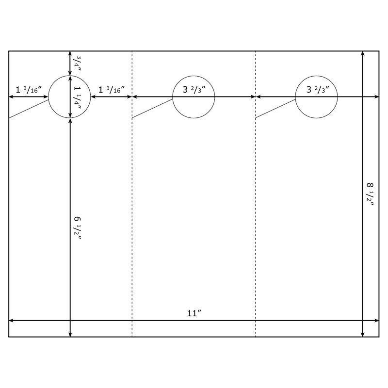 Door Hanger Template Word Burris 3 Per Page Door Hanger Template for Microsoft Word
