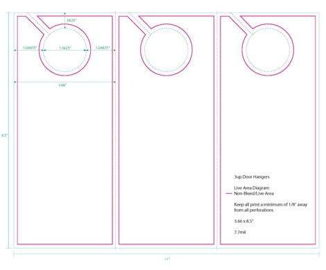 Door Hanger Template Word Research Door Hanger Campaign Item