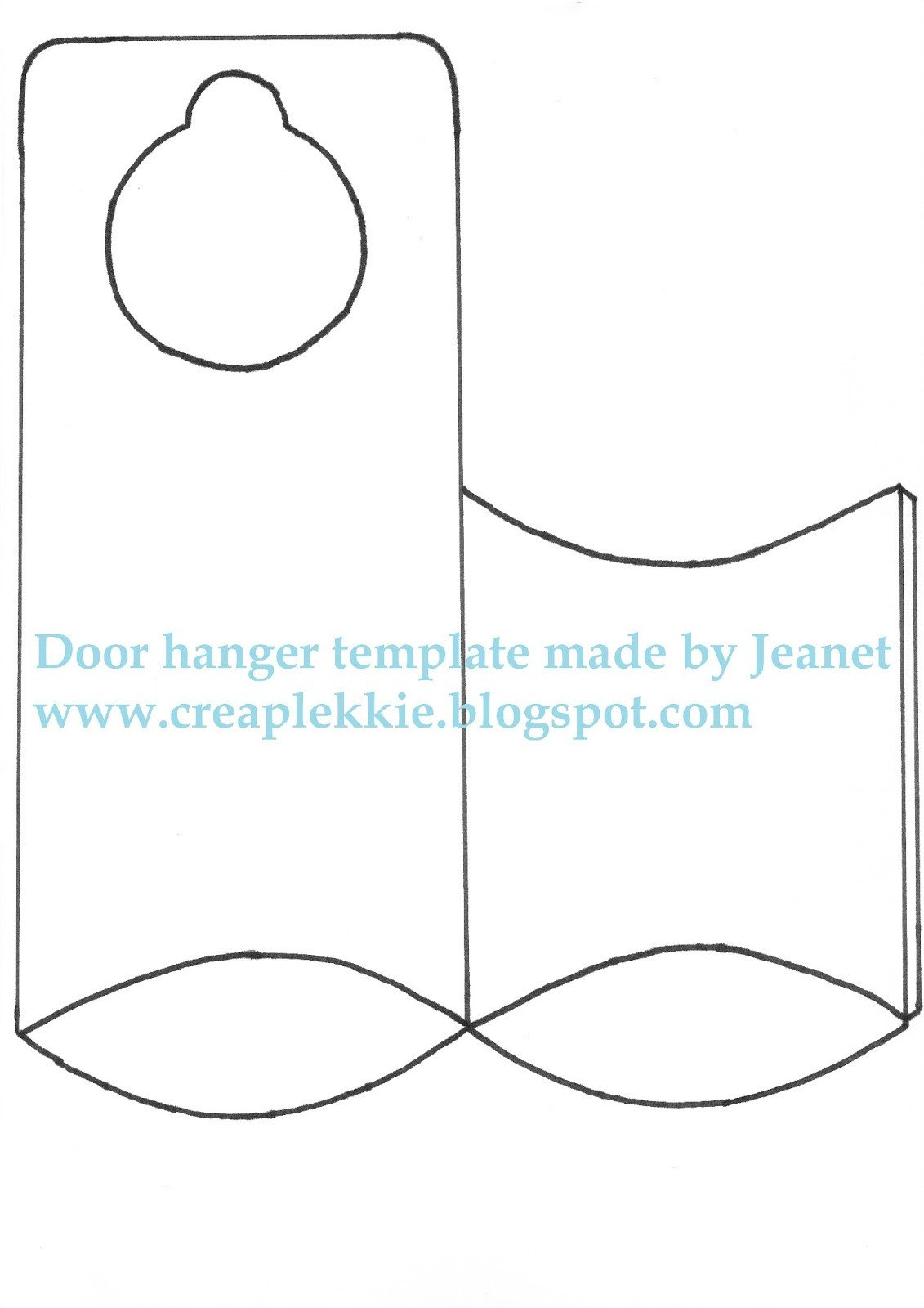 Door Hanger Templates for Word Whiff Of Joy Tutorials & Inspiration Door Hanger Template
