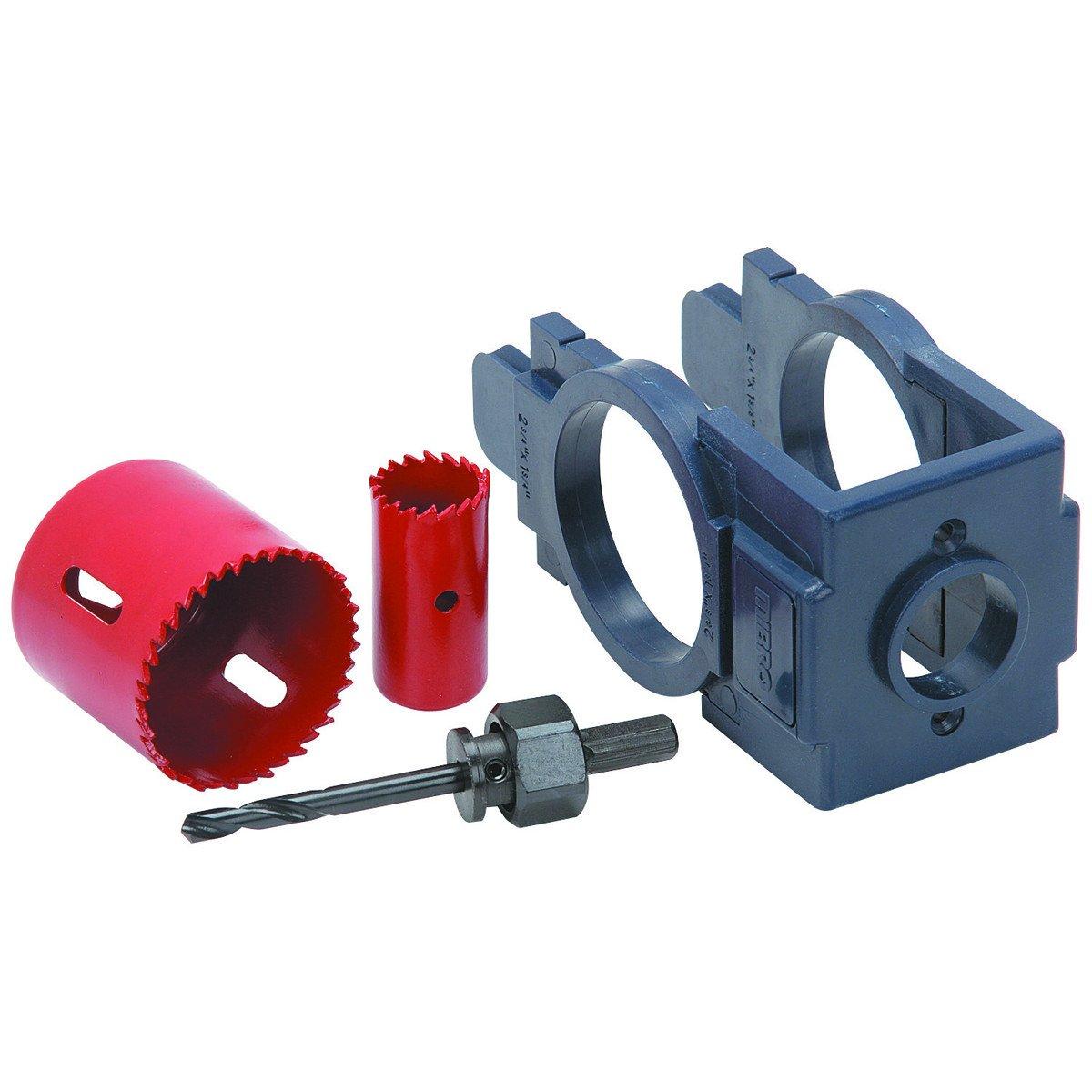 Door Knob Drill Template Door Lock Installation Kit