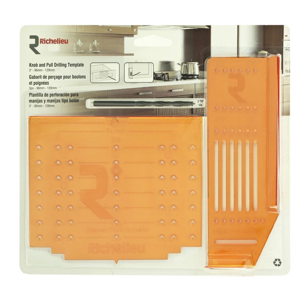 Door Knob Drill Template Richelieu Hardware Cabinet Hardware Door and Drawer