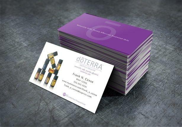 Doterra Business Card Template Best 25 Doterra Business Cards Ideas On Pinterest