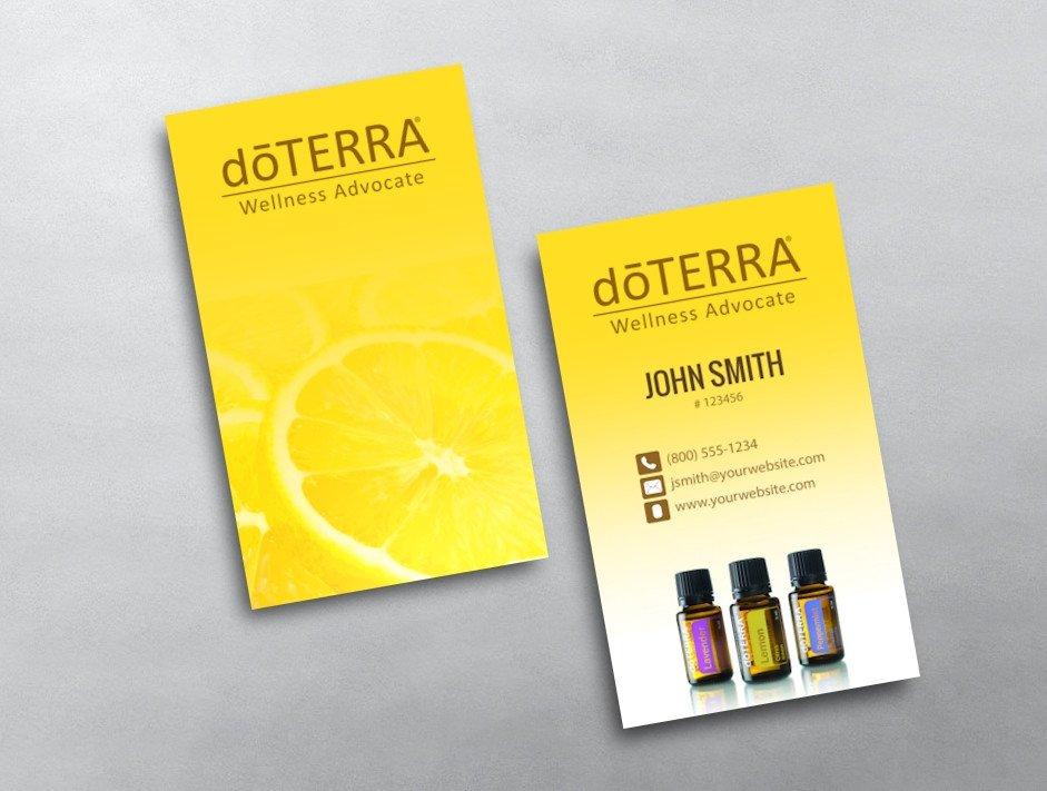Doterra Business Card Template Doterra Business Card 09
