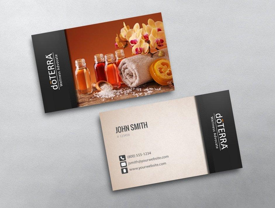 Doterra Business Card Template Doterra Business Card 32