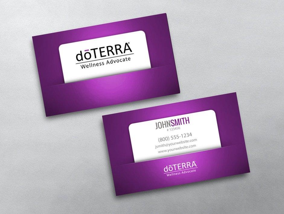 Doterra Business Card Template Doterra Business Card 43
