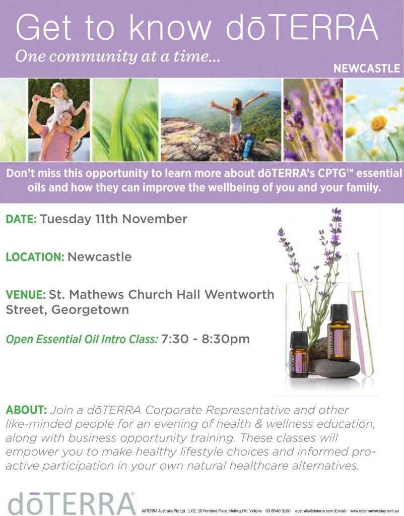 Doterra Class Flyer Template Dōterra Essential News 8 22 Dōterra Everyday Australia