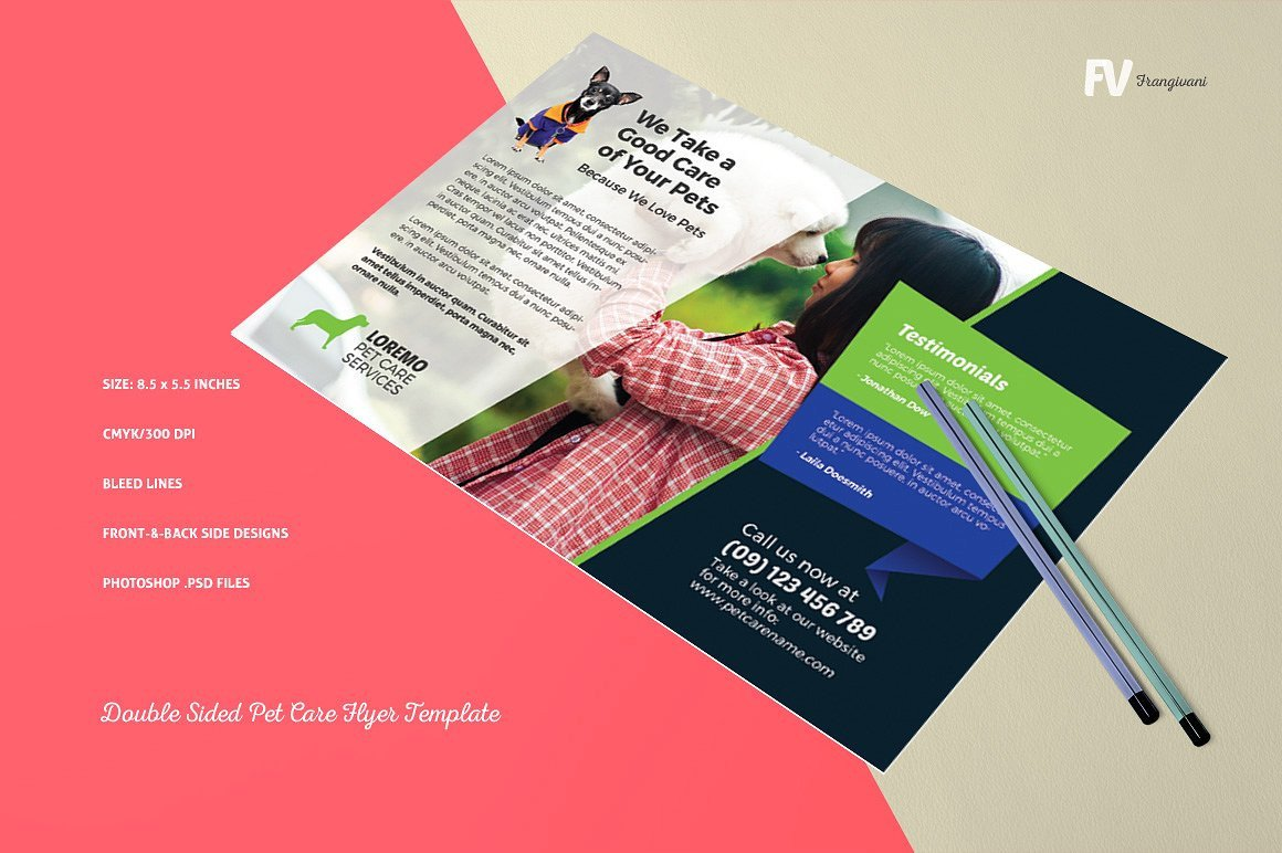 Double Sided Brochure Template 16 Double Sided Flyers Word Psd Ai Eps Vector