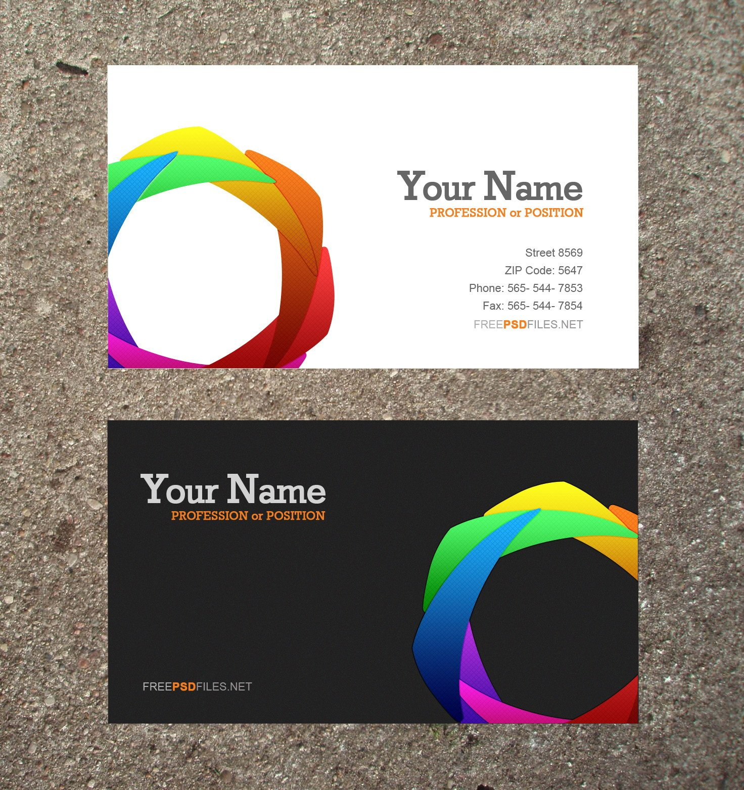 Download Business Cards Templates 10 Modern Business Card Psd Template Free Free