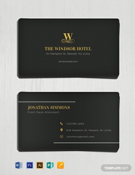 Download Business Cards Templates 341 Free Business Card Templates [download Ready Made