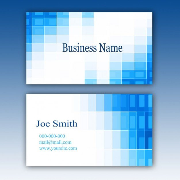Download Business Cards Templates Blue Business Card Template Psd File