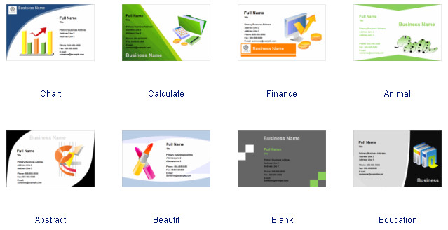 Download Business Cards Templates Business Card software Free Business Card Templates Download