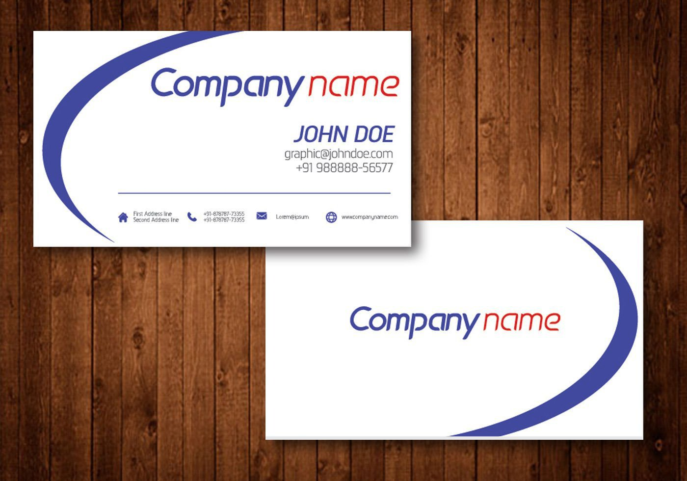 Download Business Cards Templates Business Card Template Business Card Template Freepik