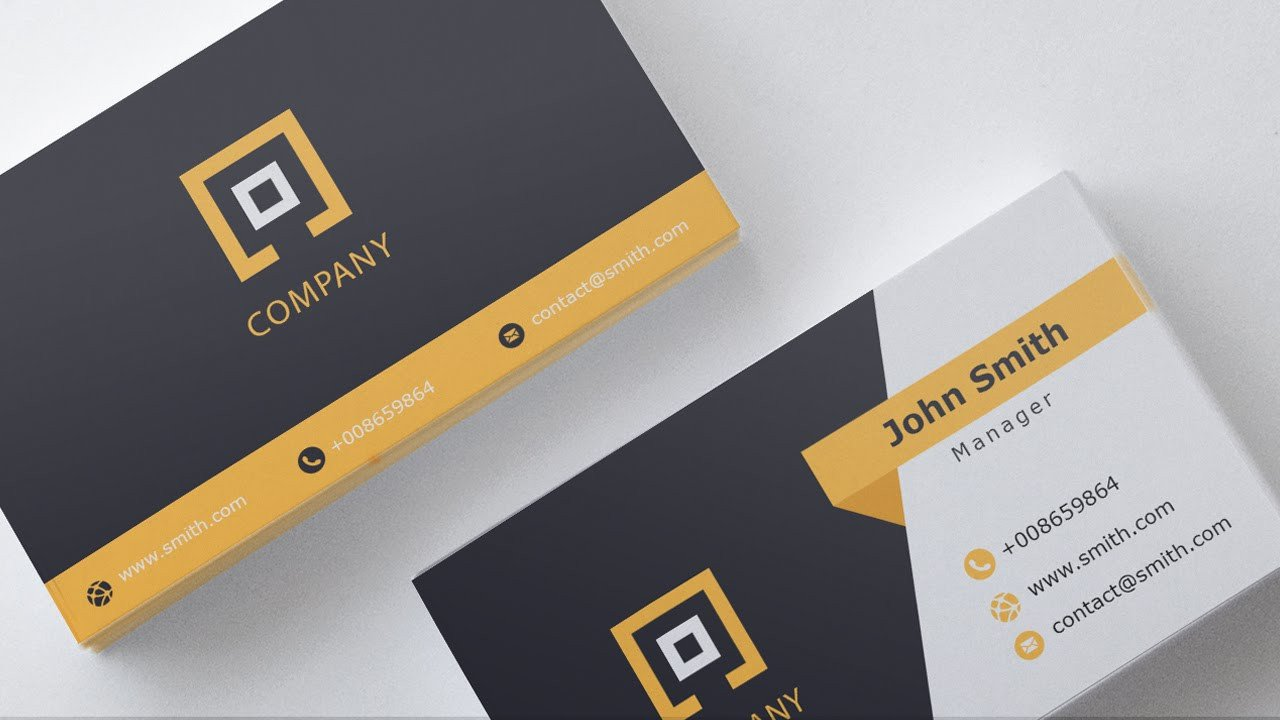 Download Business Cards Templates Business Card Template Free Download 1