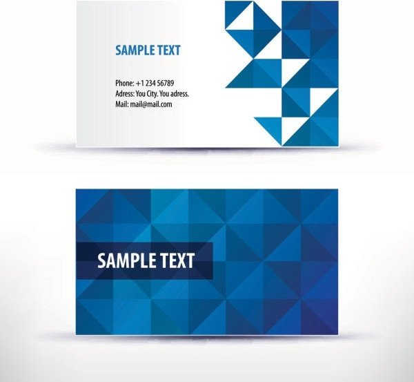Download Business Cards Templates Business Card Template Free Vector