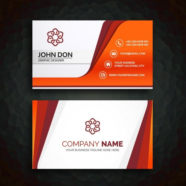 Download Business Cards Templates Business Card Template Vector