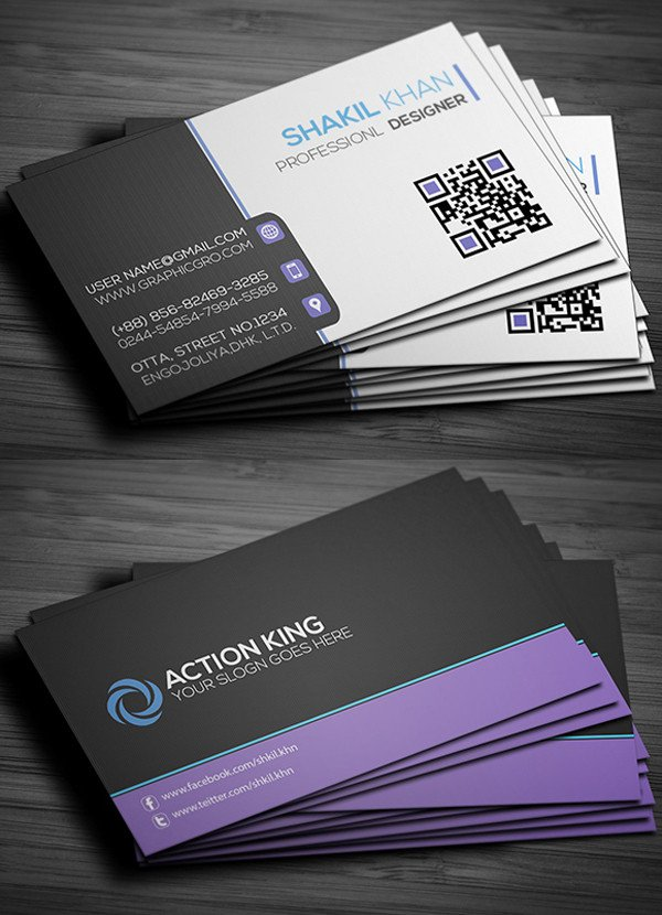 Download Business Cards Templates Free Business Cards Psd Templates Print Ready Design