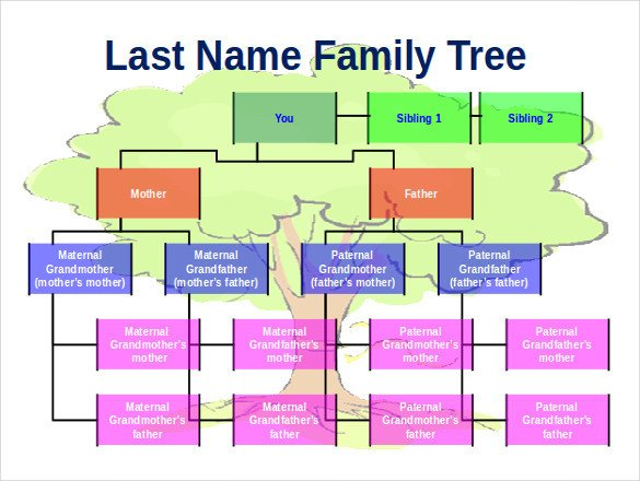 Download Family Tree Template 8 Powerpoint Family Tree Templates Pdf Doc Ppt Xls