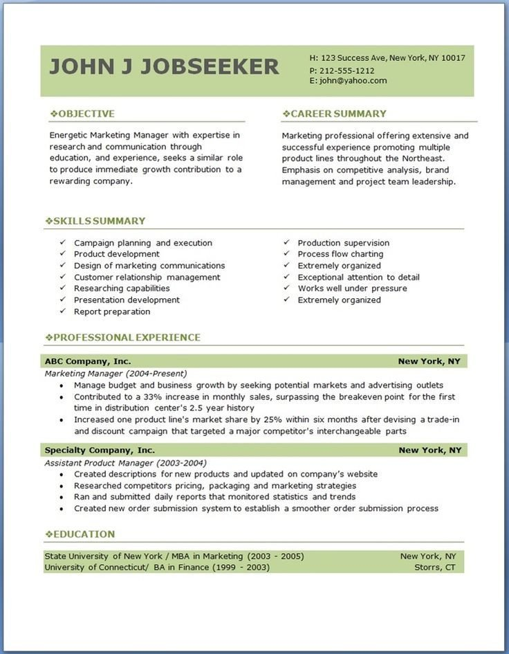 Download Free Resume Template 17 Best Ideas About Professional Resume Template On