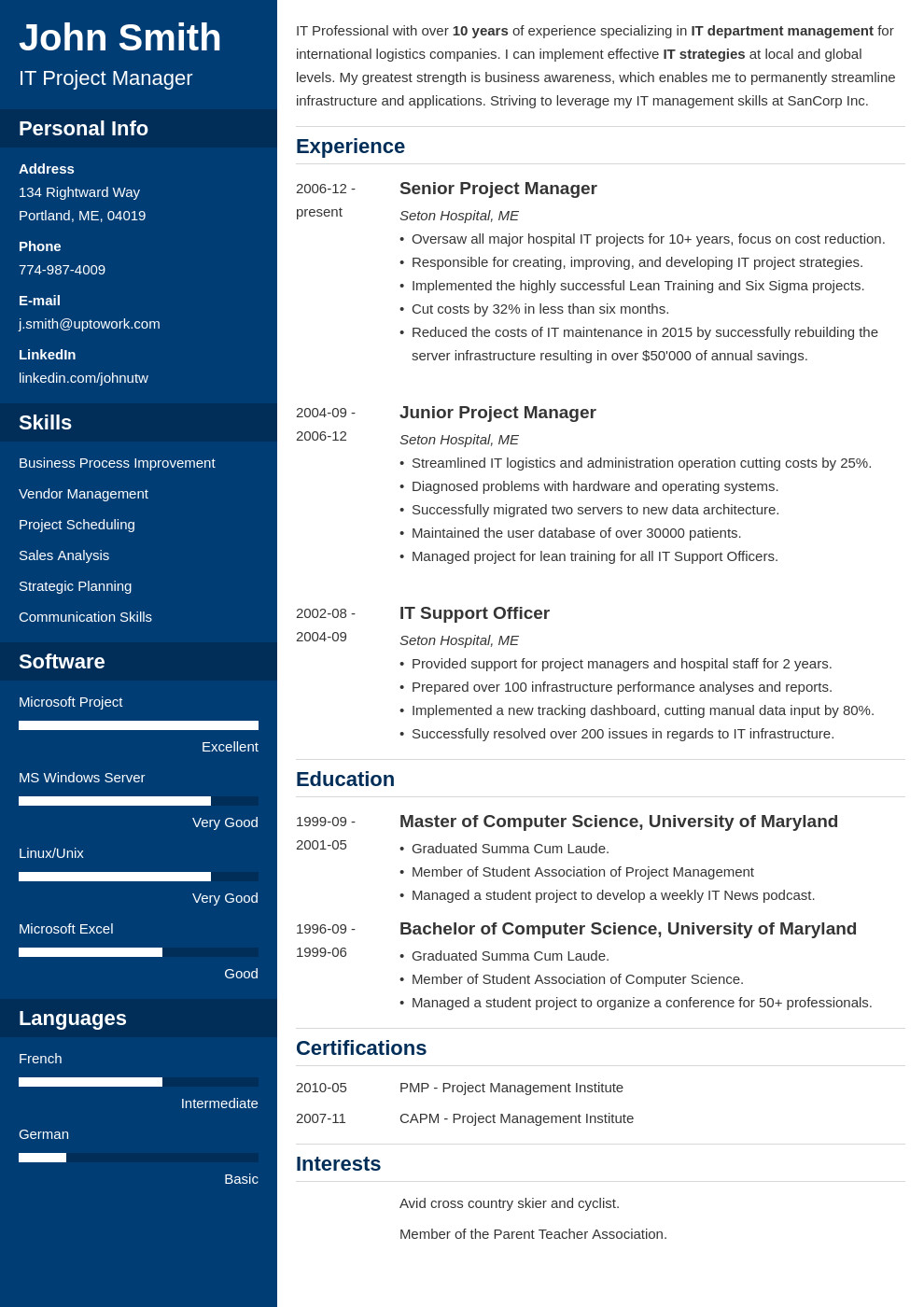 Download Free Resume Template 20 Resume Templates [download] Create Your Resume In 5