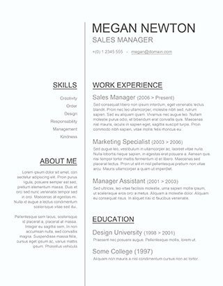 Downloadable Resume Templates Word 125 Free Resume Templates for Word [downloadable] Freesumes