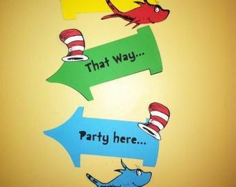 Dr Seuss Arrows Free Printables Dr Seuss Inspired
