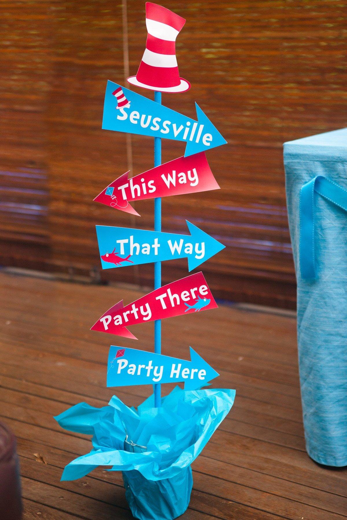 Dr Seuss Arrows Free Printables Free Dr Seuss Party Printables – Sunshine Parties