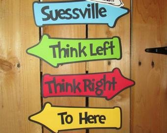 Dr Seuss Arrows Free Printables Popular Items for Whimsical On Etsy