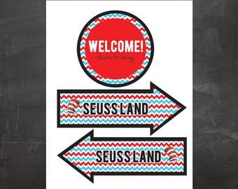 Dr Seuss Arrows Free Printables Unavailable Listing On Etsy