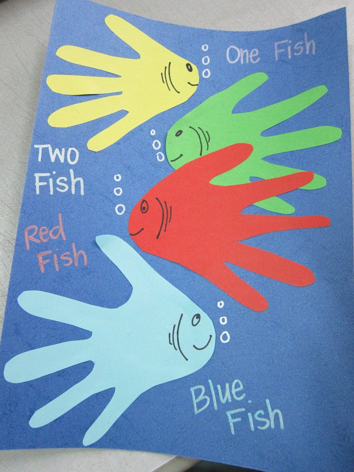 Dr Seuss Fish Template Celebrating Dr Seuss