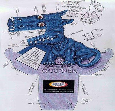 Dragon Illusion Printout Pin Dragon Illusion Print Kentbaby On Pinterest