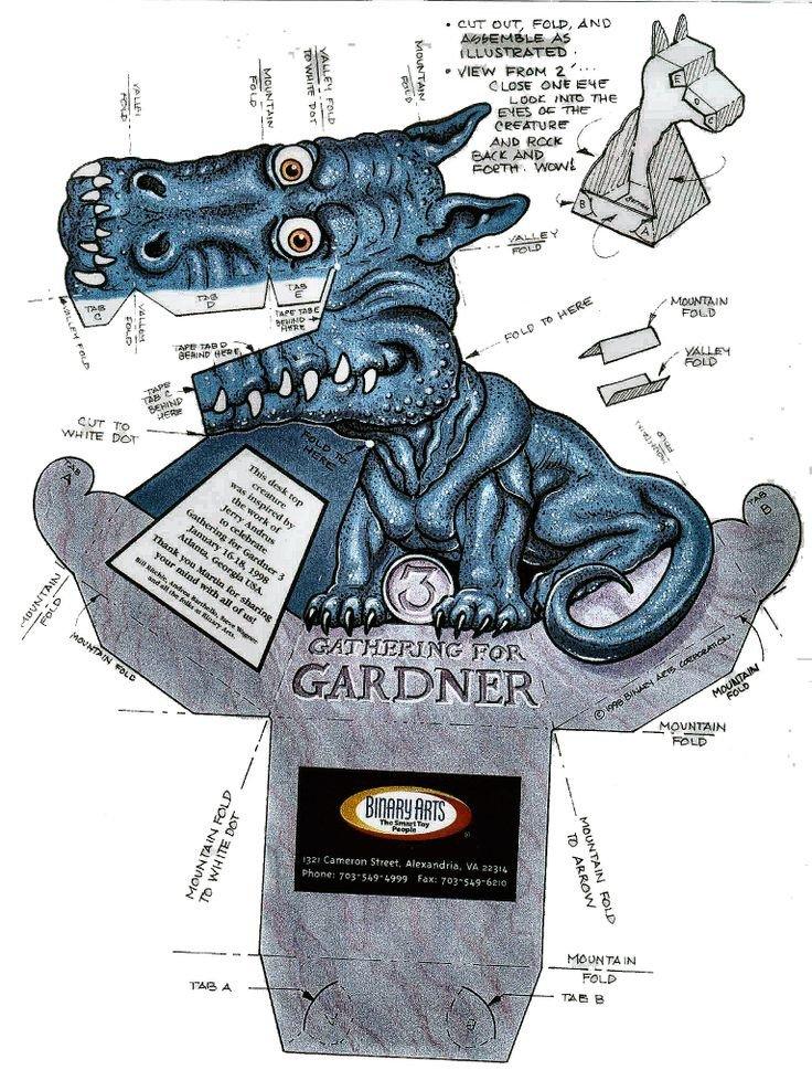 Dragon Illusion Printout Pinterest • the World's Catalog Of Ideas