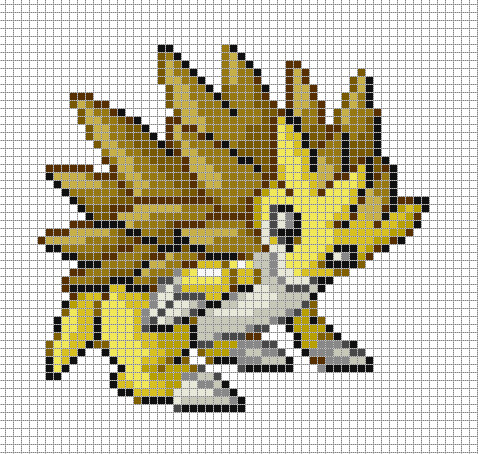 Dragon Pixel Art Grid Sandslash Pixel Art Template by Dragon On Deviantart