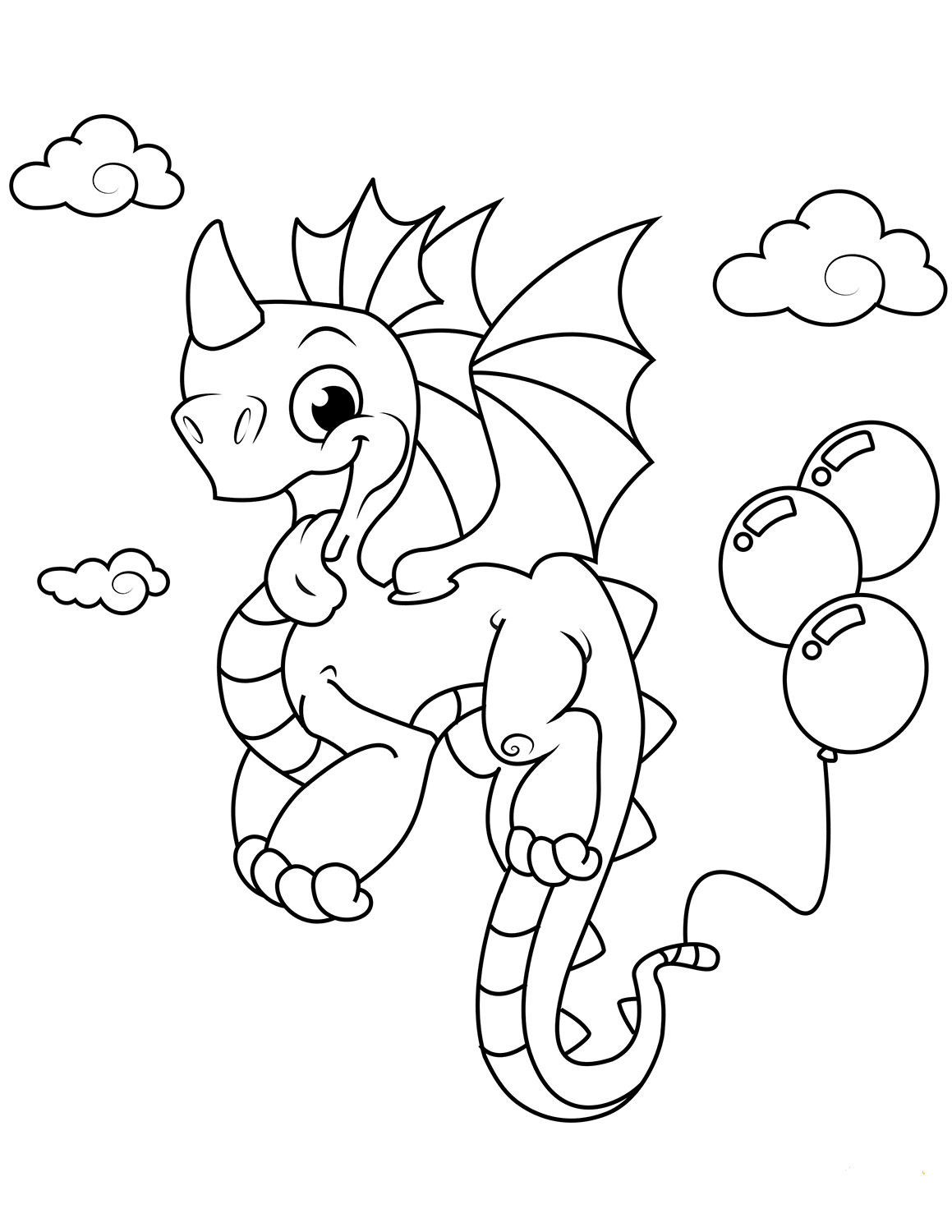Dragon Tracing Pictures 35 Free Printable Dragon Coloring Pages